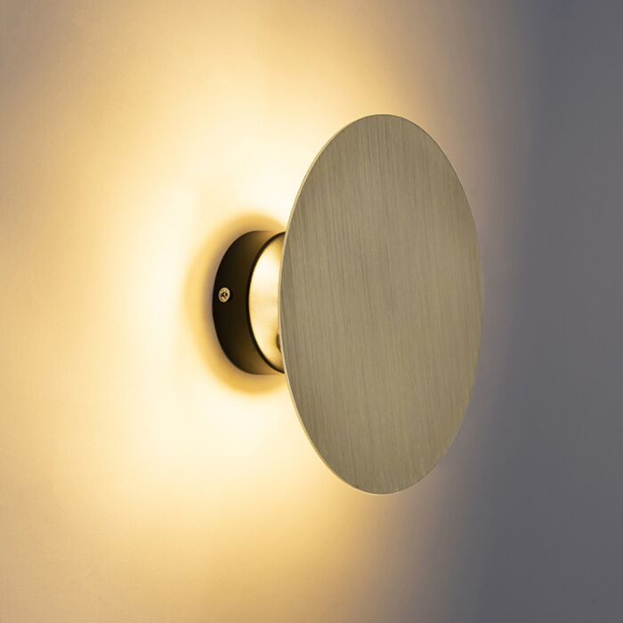 Design-wandlamp-rond-goud---Pulley