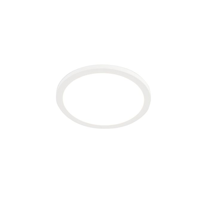 Moderne-in--of-opbouwspot-wit-29,5-cm-incl.-LED---Trans