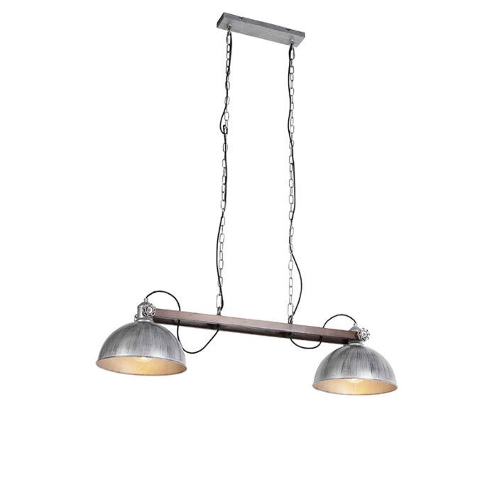 Industriële-hanglamp-zink---Hathi