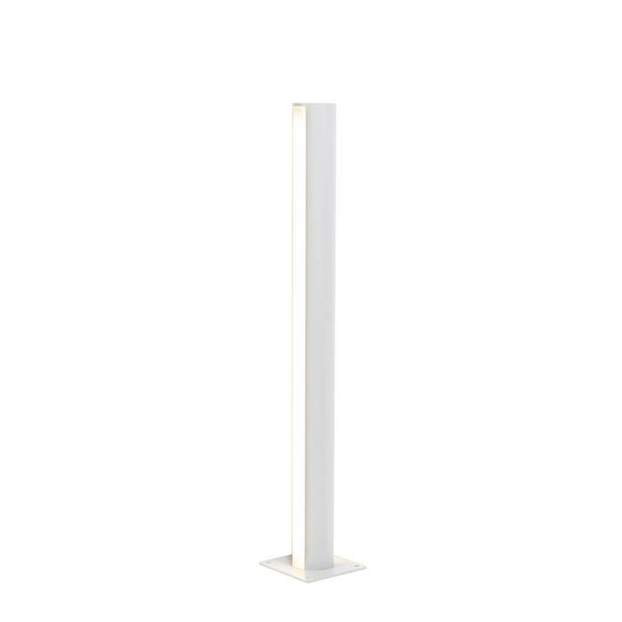 Moderne-staande-buitenlamp-aluminium-70-cm-IP44---Laurel