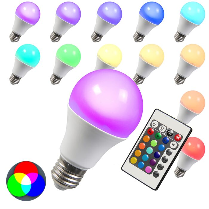 LED-lamp-RGB-E27-3W