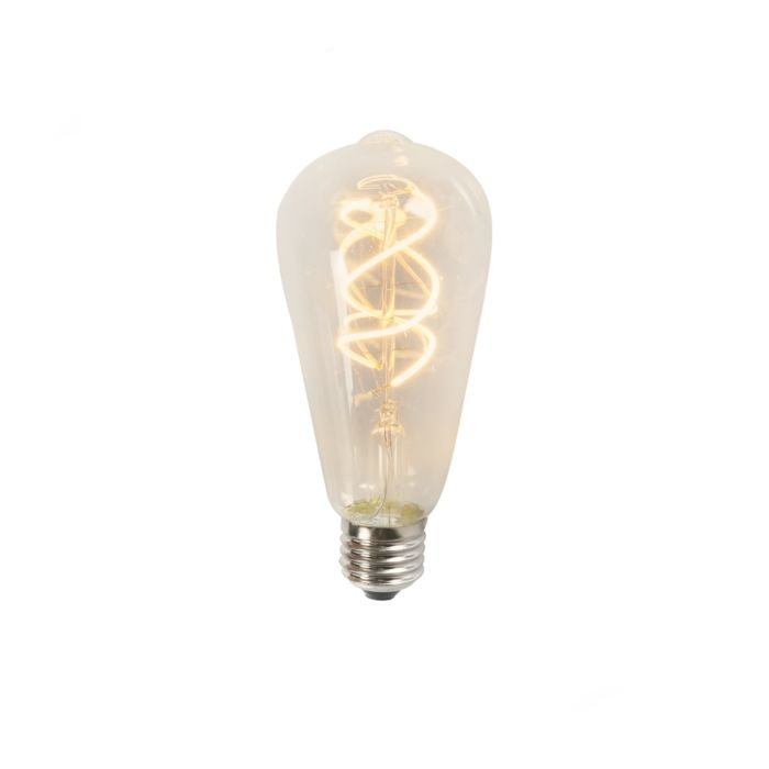 Gedraaid-LED-filament-ST64-5W-2200K-helder