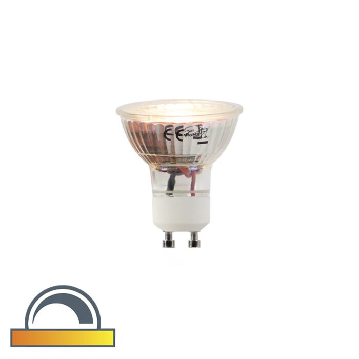 LED-lamp-GU10-5W-360-lumen-2000-2700K-Dim-to-warm