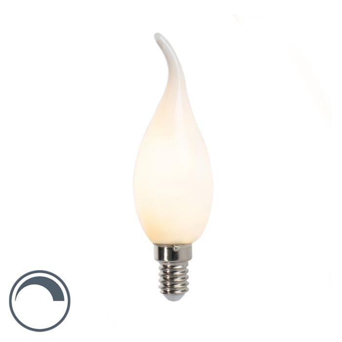 LED-filament-tipkaarslamp-E14-3W-250lm-F35-dimbaar-mat