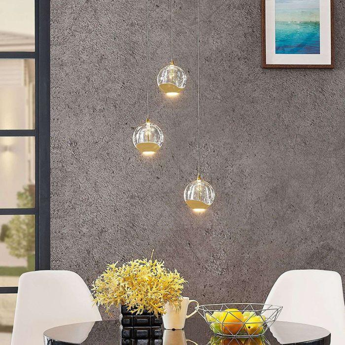Moderne-plafondlamp-goud-met-glas-3-lichts-incl.-LED---Hayley