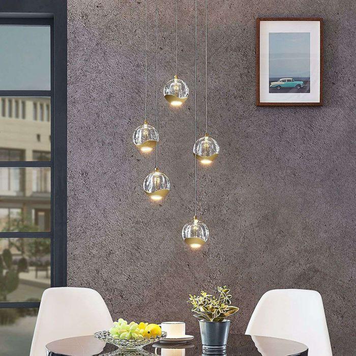 Moderne-plafondlamp-goud-met-glas-5-lichts-incl.-LED---Hayley