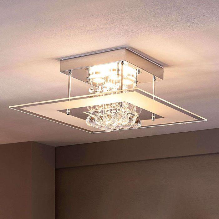 Moderne-plafondlamp-incl.-LED-IP44---Lisandra
