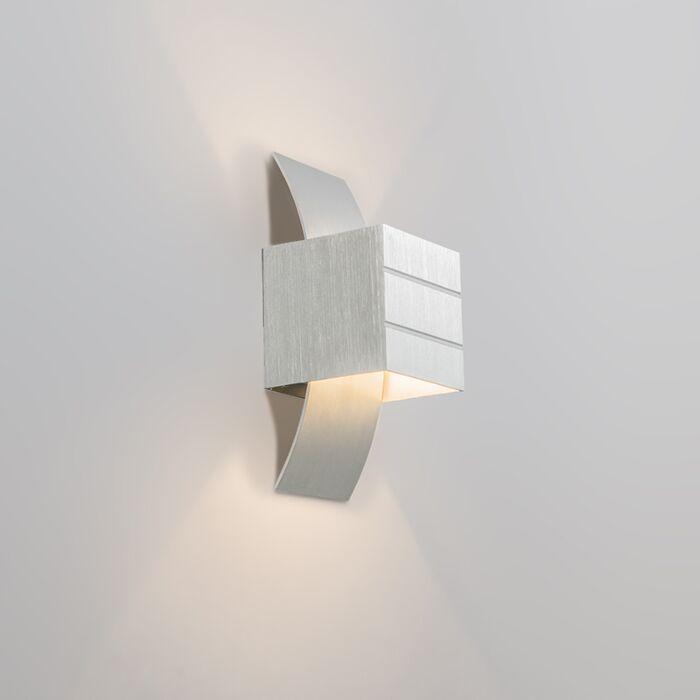 Moderne-wandlamp-aluminium---Amy