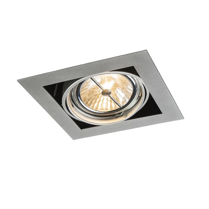 Inbouwspot-aluminium-vierkant-verstelbaar-1-lichts---Oneon-111-1