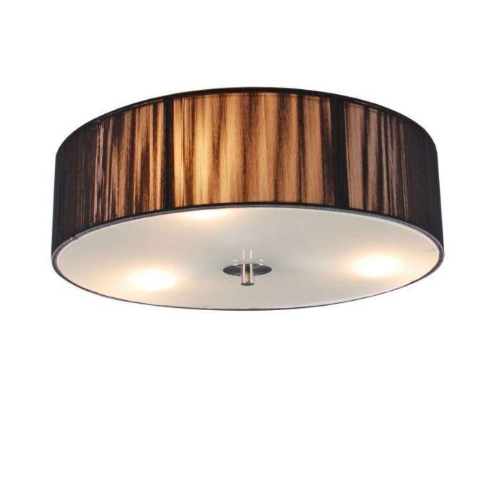 Plafondlamp-Rope-rond-40-antraciet