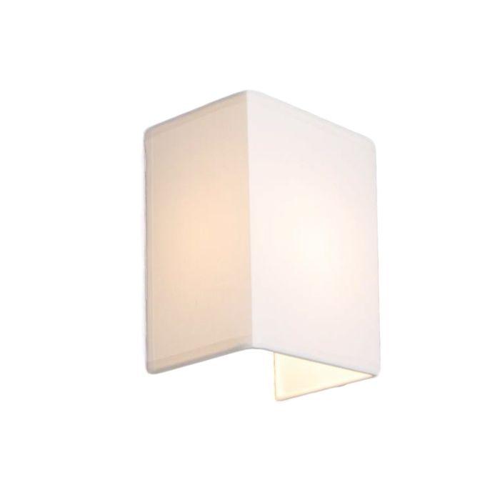 Landelijke-wandlamp-wit---Vete