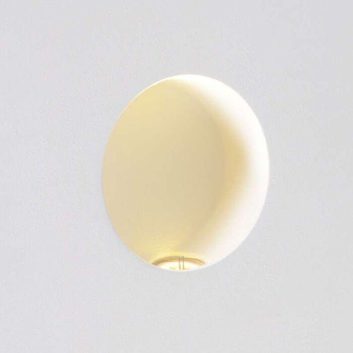 Wandlamp-Zero-rond-LED-inbouw