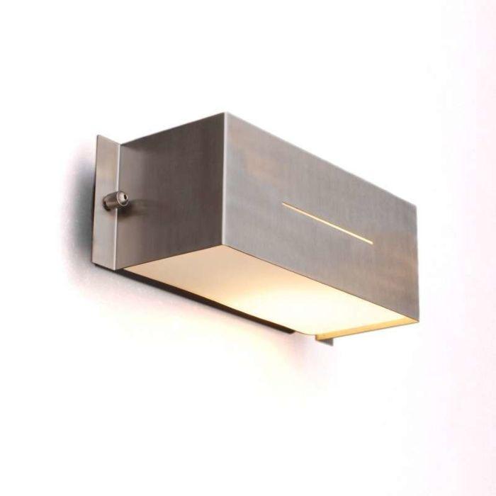 Buitenlamp-Celine-wand-Square-RVS
