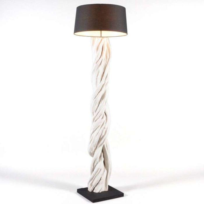 Vloerlamp-Arich-met-kap-zwart
