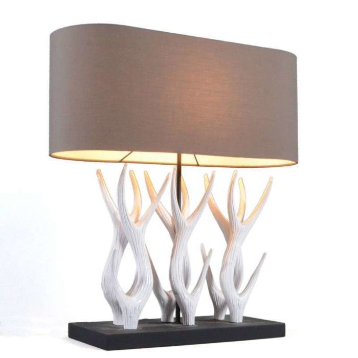 Tafellamp-Yindee-Recta-met-bruine-kap