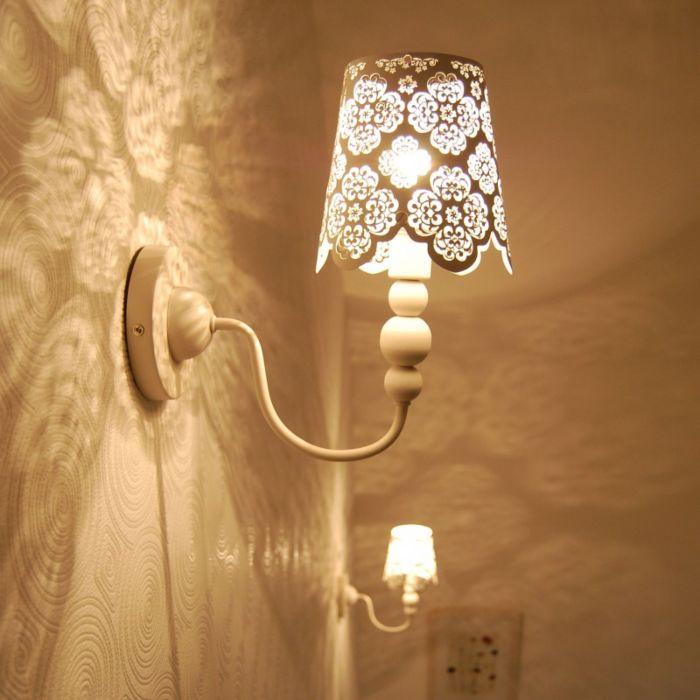 Wandlamp-Lace-wit