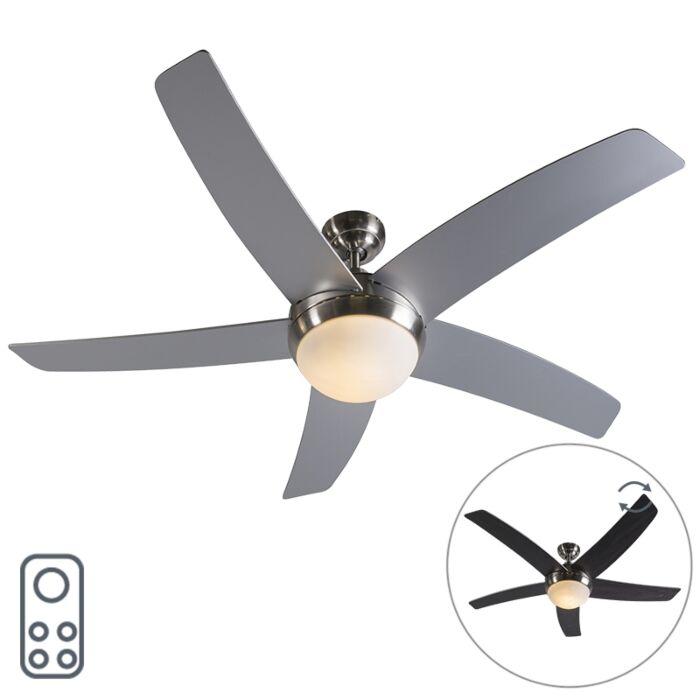 Plafondventilator-staal-met-afstandsbediening---Cool-52