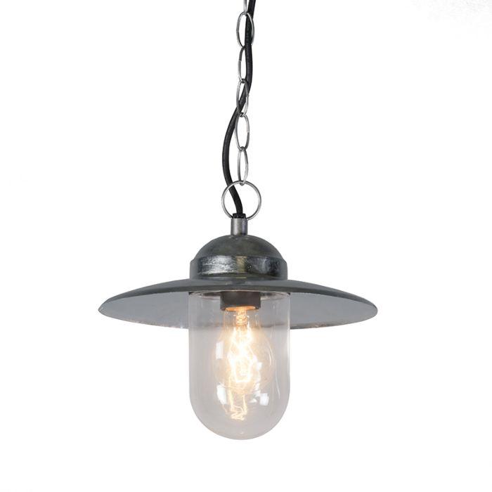 Industriële-hanglamp-zink-IP44---Munich