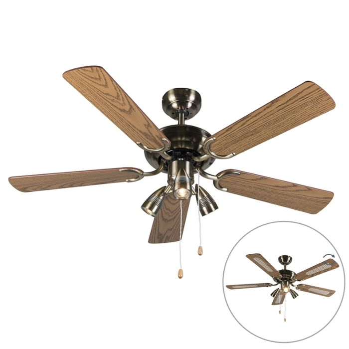 Plafondventilator-brons---Mistral-42