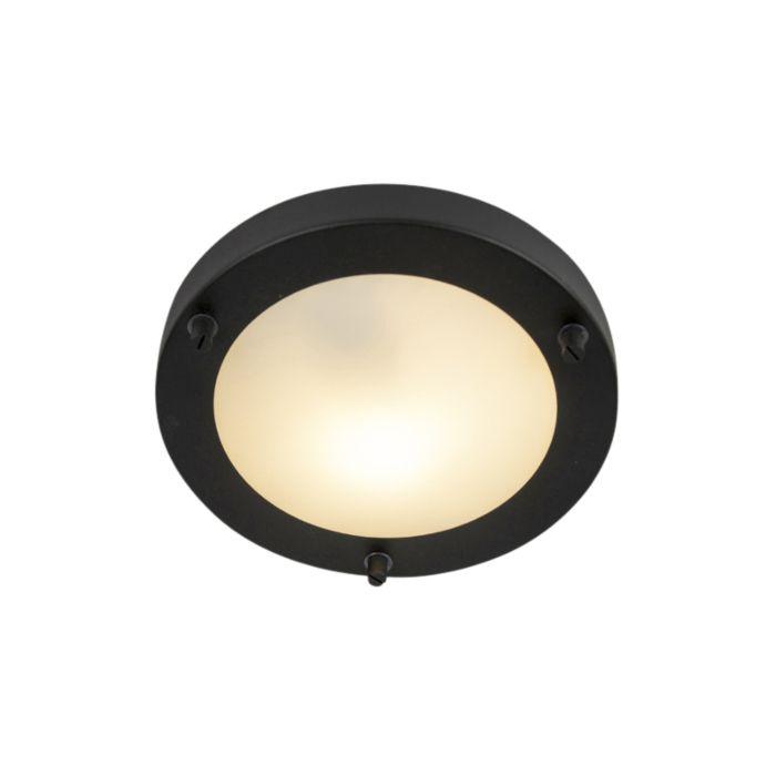 Moderne-plafonnière-zwart-IP44---Yuma-18