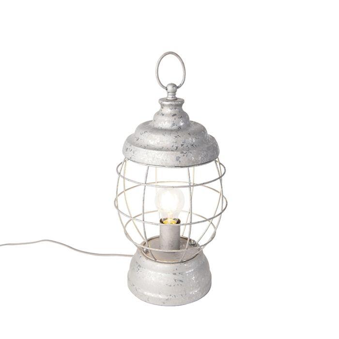 Landelijke-tafellamp-grijs---Lentera