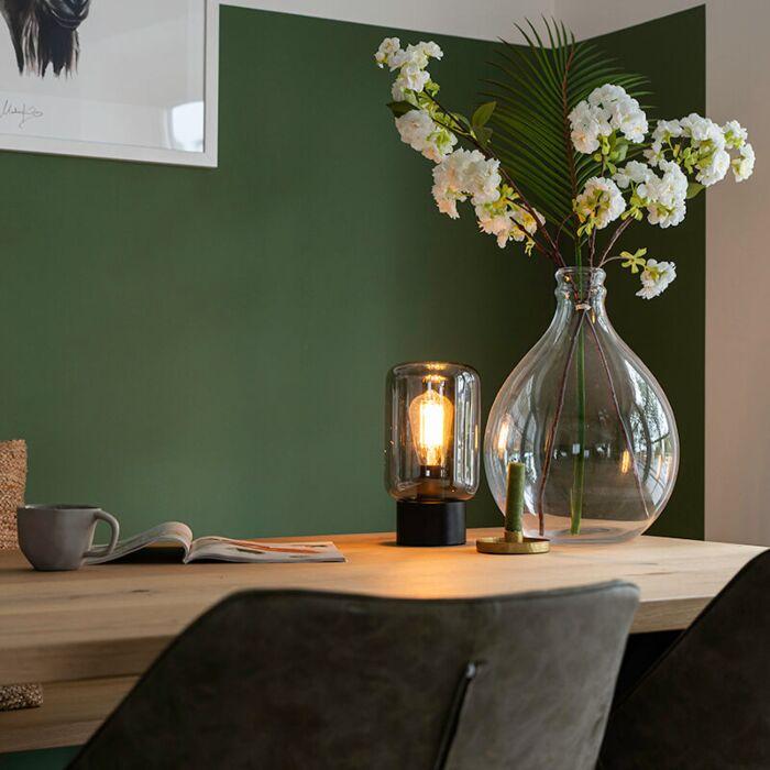 Design-zwart-met-smoke-glas-tafellamp---Bliss-Cute