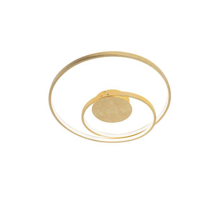 Art-Deco-plafondlamp-goud-dimbaar-incl.-LED---Rowan