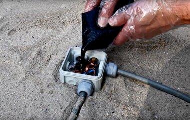 Tip 2: Verbind de kabels met een kabelmof