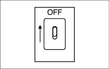 Montage instructies - plafondventilator - stroom uit