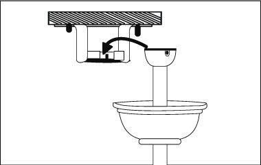 Plafondventilator ophangen aan het plafond