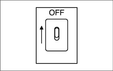 Montage instructies - wandlamp - stroom uit