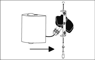 Montage instructies - wandlamp - bevestig de wandlamp